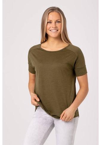 SUPER.NATURAL T-Shirt »W ISLA TEE«, optimaler Merino-Materialmix kaufen