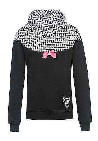 Pussy Deluxe Schalkragenpullover »Houndstooth Shawl Hoodie« kaufen