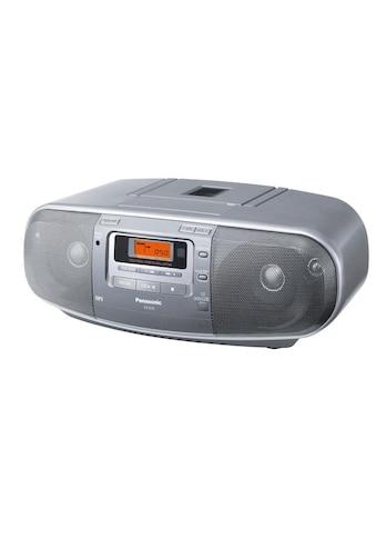 Panasonic Radio »D50AEG-S Schwarz«, (CD FM-Tuner ) kaufen