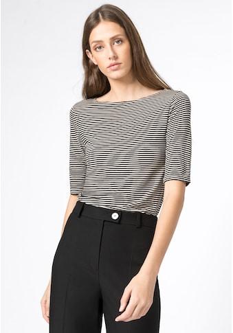 HALLHUBER T - Shirt »Ringelshirt mit Halbärmeln« kaufen