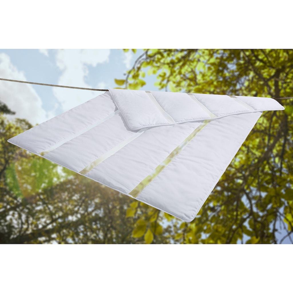 my home Microfaserbettdecke »Meshhie«, leicht, Füllung 3D-Hohlfaser, Bezug Polyester, (1 St.), Die Bettdecke für heisse Sommertage und heisse Typen