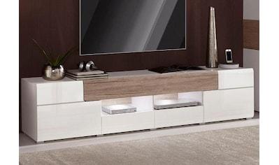 TRENDMANUFAKTUR Lowboard »Toledo«, Breite 209 cm kaufen