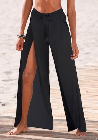 LASCANA Jerseyhose, mit Schlitzen vorne kaufen