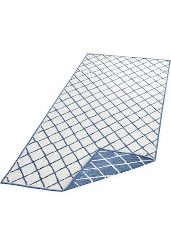 bougari Läufer »Malaga«, rechteckig, 5 mm Höhe, In- und Outdoor geeignet, Wendeteppich kaufen