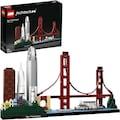 "LEGO® Konstruktionsspielsteine ""San Francisco (21043), LEGO® Architecture"", Kunststoff, (565-tlg.)"