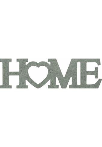 Wall-Art Dekoobjekt »Home mit Herz«, 52/15 cm kaufen