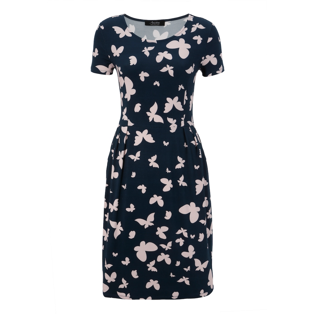 Aniston SELECTED Sommerkleid, mit Eingrifftaschen - NEUE KOLLEKTION