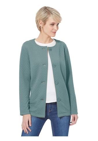 Classic Basics Shirtjacke mit Zickzack - Jacquardmuster kaufen