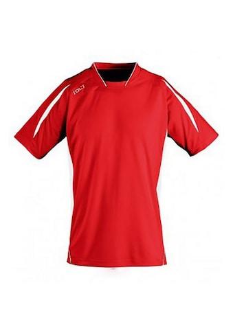 SOLS T-Shirt »Kinder Maracana 2 Kurzarm Fussball« kaufen