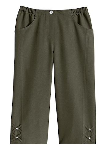Classic Basics Capri - Hose mit schmückender Verzierung am Beinabschluss kaufen