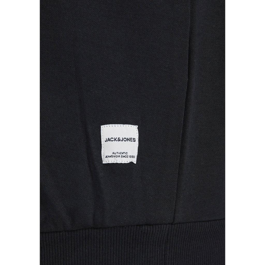 Jack & Jones Kapuzensweatshirt »BASIC SWEAT HOOD«, bis Grösse 6XL