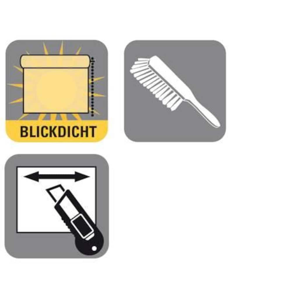 GARDINIA Seitenzugrollo »Seitenzugrollo Lichtdurchlässig«, Lichtschutz, 1 Stück, im Fixmass