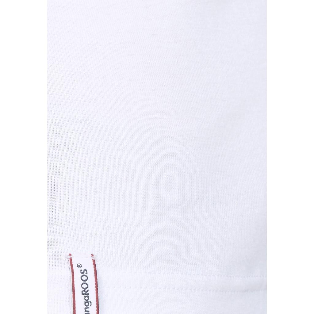 KangaROOS Langarmshirt, mit Ärmel aus Spitze