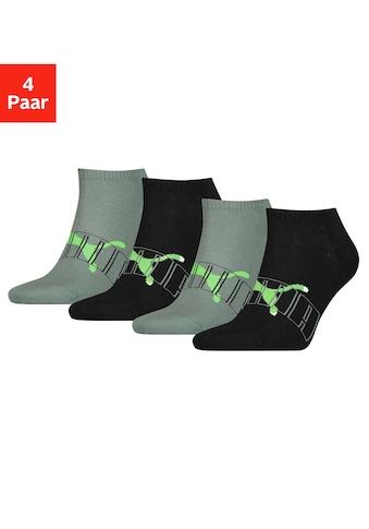 PUMA Sneakersocken, (4 Paar), mit trendigem Markenlogo kaufen