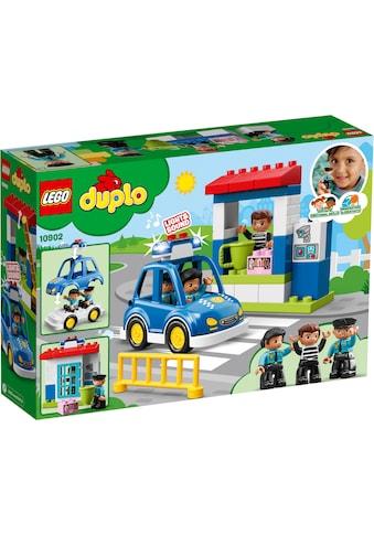 LEGO® Konstruktionsspielsteine »Polizeistation (10902), LEGO® DUPLO™«, (38 St.), mit Licht- und Geräuscheffekten kaufen