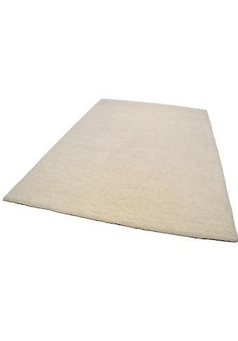 THEKO Wollteppich »Amravati«, rechteckig, 28 mm Höhe, reine Wolle, echter Berber, handgeknüpft, Wohnzimmer kaufen