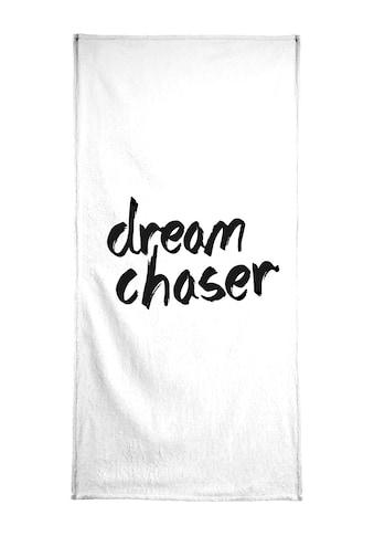 """Handtuch """"Dream Chaser"""", Juniqe kaufen"""
