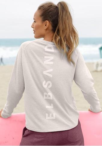 Elbsand Longsleeve »Tira«, mit Logodruck hinten kaufen