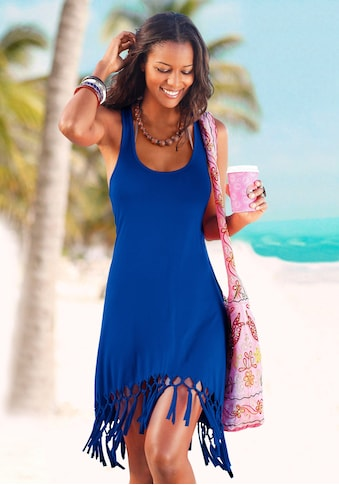 Beachtime Longshirt, mit Fransen kaufen