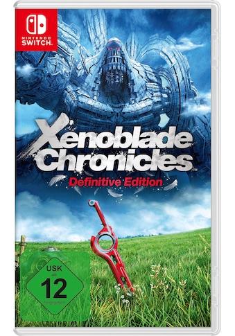 Nintendo Switch Spiel »Xenoblade Chronicles: Definitive Edition«, Nintendo Switch kaufen
