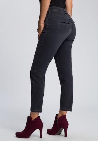 MAC Ankle-Jeans »Dream Pocket«, Zierriegel kaufen