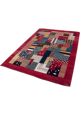THEKO Wollteppich »Lori Astara«, rechteckig, 16 mm Höhe, reine Wolle, handgeknüpft, Wohnzimmer kaufen