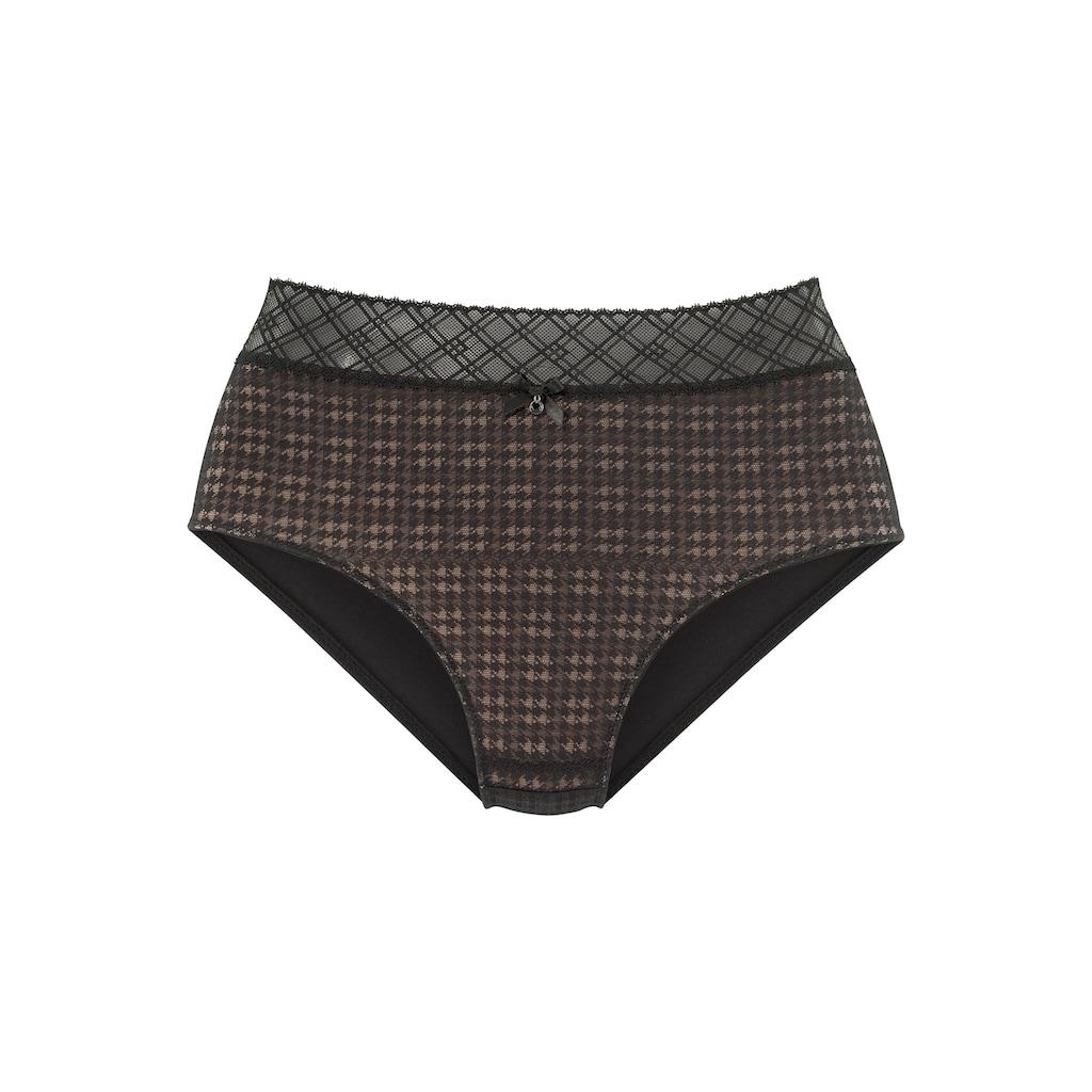 s.Oliver Bodywear Slip, aus graphischer Spitze