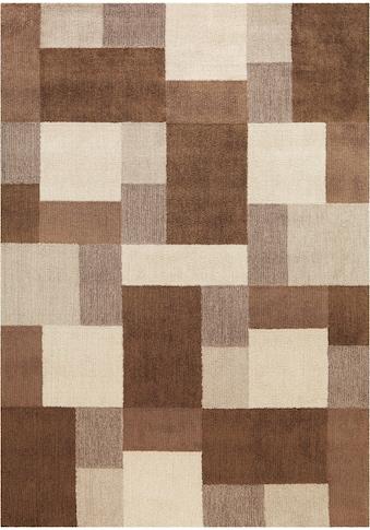 Arte Espina Teppich »Fiesta 4318«, rechteckig, 14 mm Höhe, Besonders weich durch Microfaser, Wohnzimmer kaufen