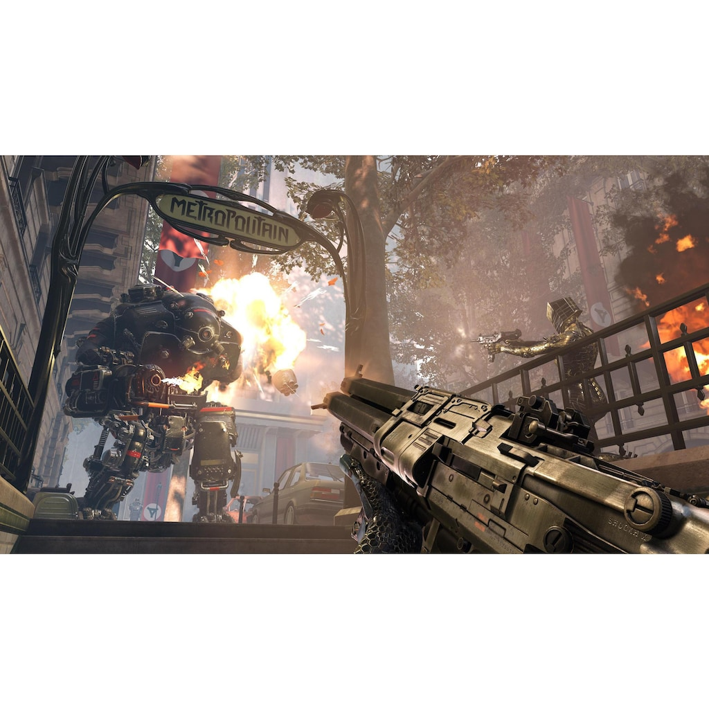 Spiel »Wolfenstein: Youngblood - Deluxe Edition«, Xbox One, Limited Edition