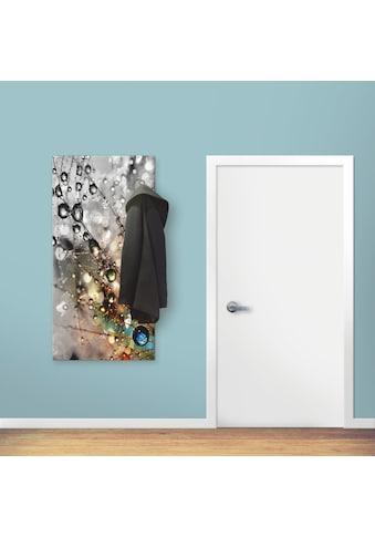 Artland Garderobe »Farbenfrohe Natur«, platzsparende Wandgarderobe aus Holz mit 6... kaufen
