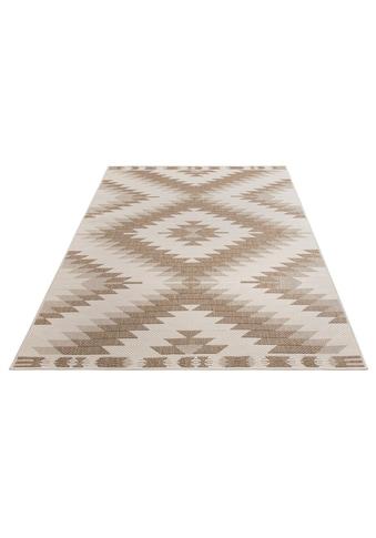 Home affaire Teppich »Antim«, rechteckig, 5 mm Höhe, Flachgewebe, beidseitig... kaufen