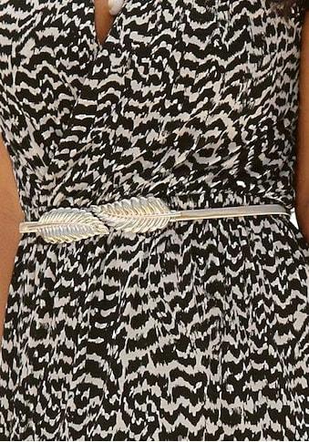 LASCANA Taillengürtel, mit moderner Federschliesse und elastischem Band kaufen