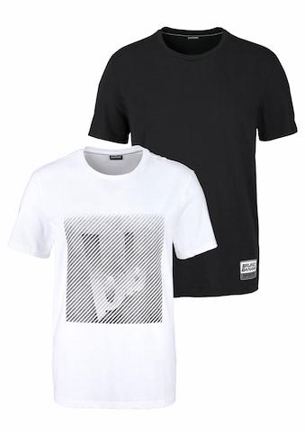 Bruno Banani T - Shirt (Spar - Set, 2er - Pack) acheter
