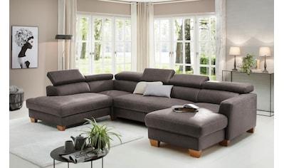 Home affaire Wohnlandschaft »Steve Luxus«, mit besonders hochwertiger Polsterung für... kaufen