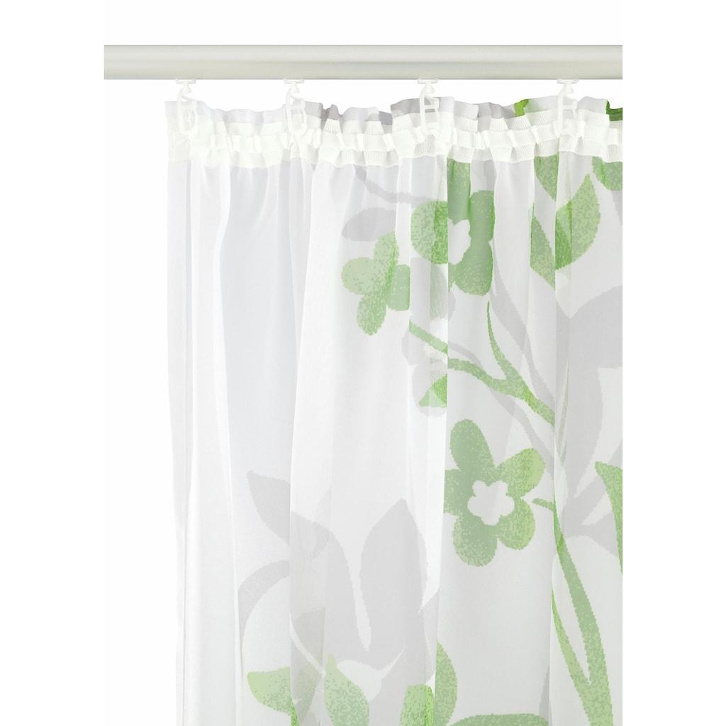 Home affaire Gardine »Ina«, Vorhang, Fertiggardine, transparent