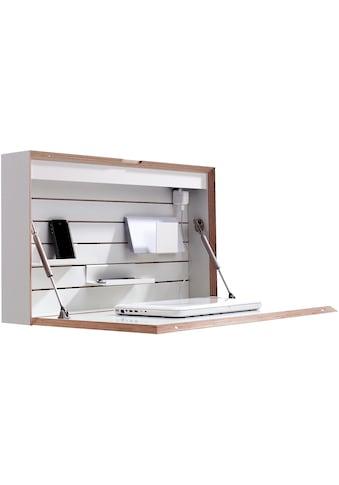 Müller SMALL LIVING Wandsekretär »FLATBOX«, hängend, wahlweise LED Beleuchtung mit... kaufen