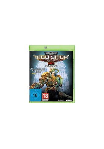 BigBen Spiel »Warhammer 40.000 Inquisitor Martyr«, Xbox One, Standard Edition kaufen