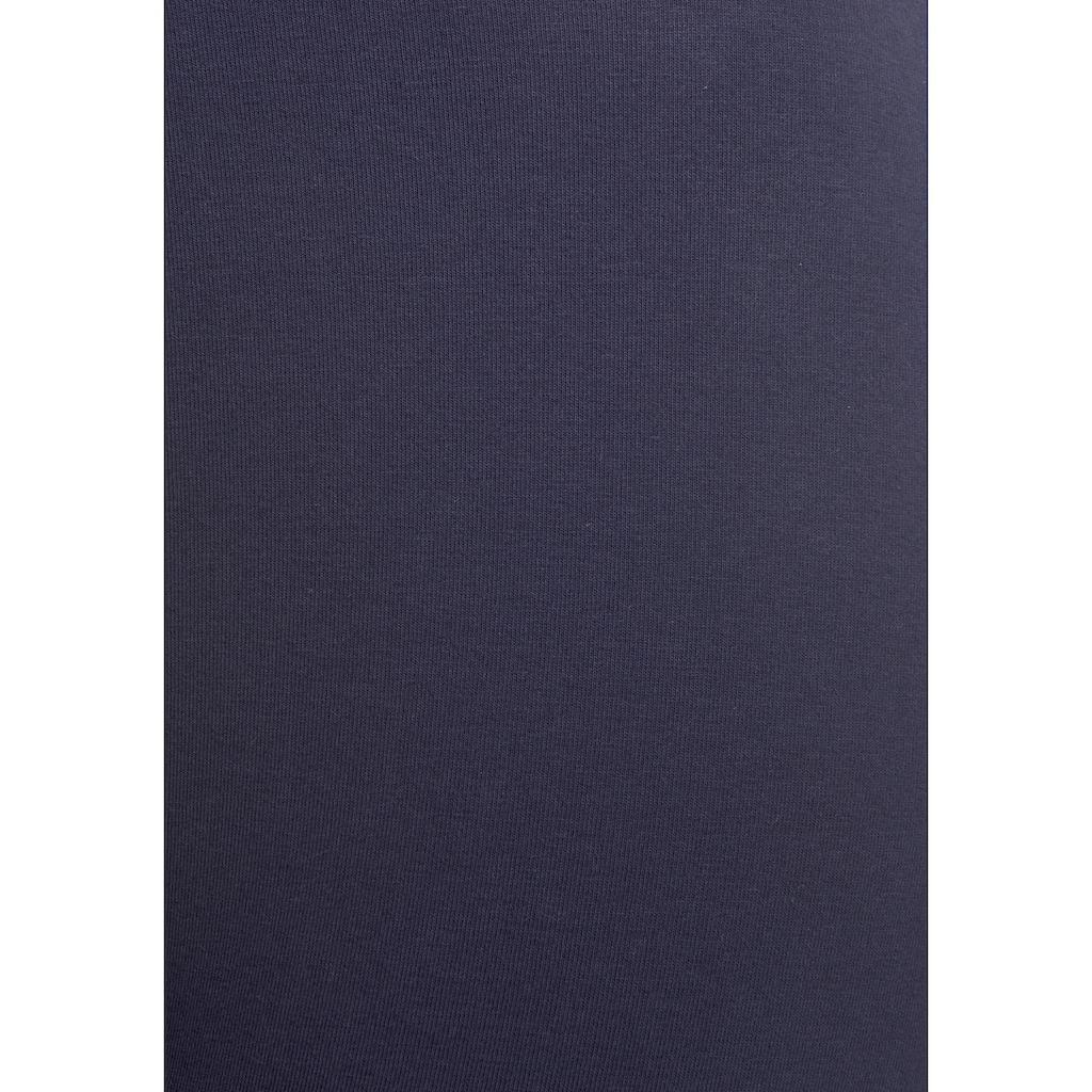 Bench. Leggings, mit gestreiftem Wäschebund