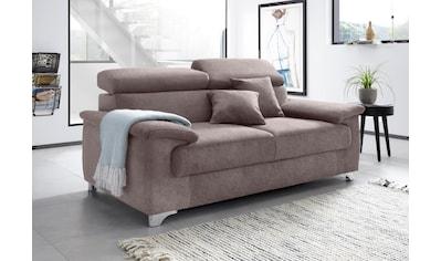 DOMO collection 2-Sitzer »Mira«, inklusive Kopfteilverstellung kaufen
