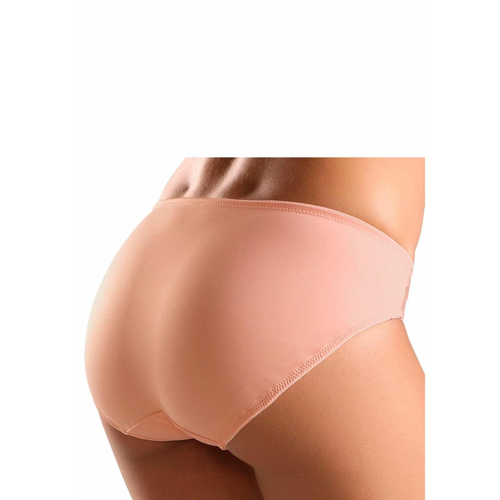 Nuance Slip, mit seitlichen Spitzeneinsätzen