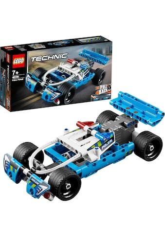 "LEGO® Konstruktionsspielsteine ""Polizei - Verfolgungsjagd (42091), LEGO® Technic"", Kunststoff, (120 - tlg.) acheter"