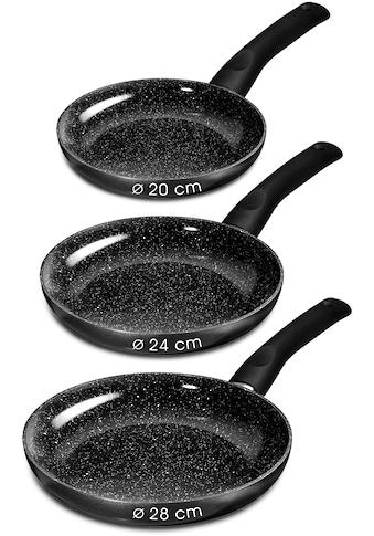STONELINE Pfannen-Set »CERAMIC«, Aluminium, (Set, 3 tlg.), Induktion kaufen