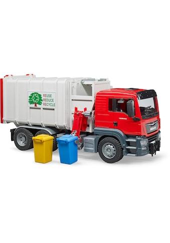 Bruder® Spielzeug-Müllwagen »MAN TGS Seitenlader«, Made in Germany kaufen