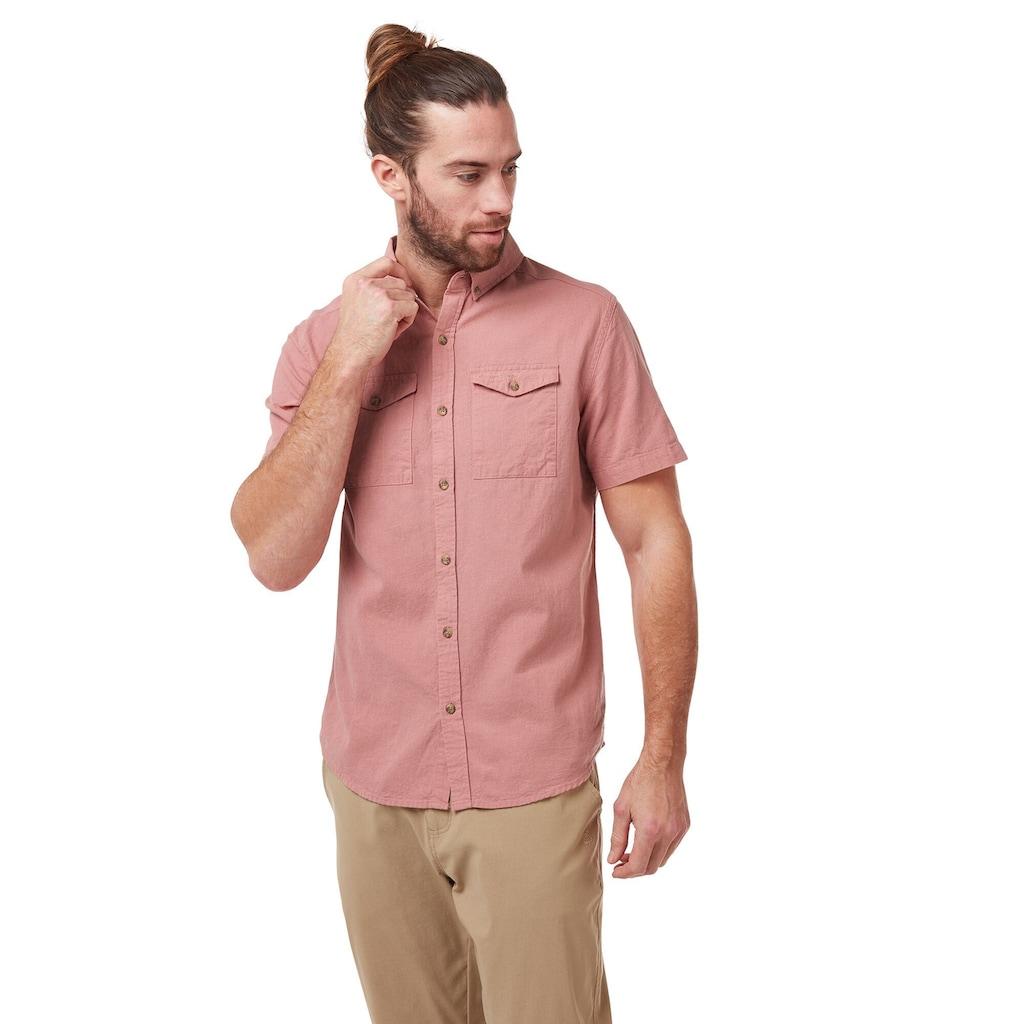 Craghoppers Leinenhemd »Herren Kiwi kurzärmlig«