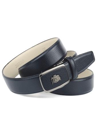 Anthoni Crown Ledergürtel, in Hirschprägung kaufen