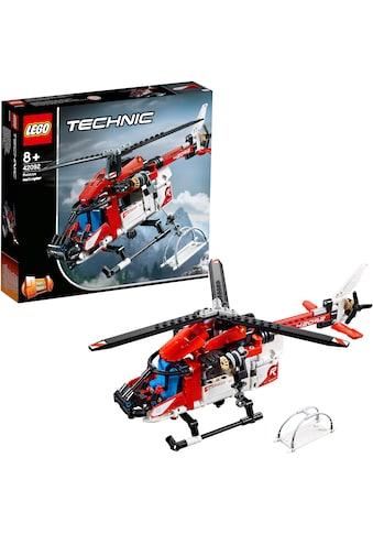 LEGO® Konstruktionsspielsteine »Rettungshubschrauber (42092), LEGO® Technic«, (325 St.) kaufen