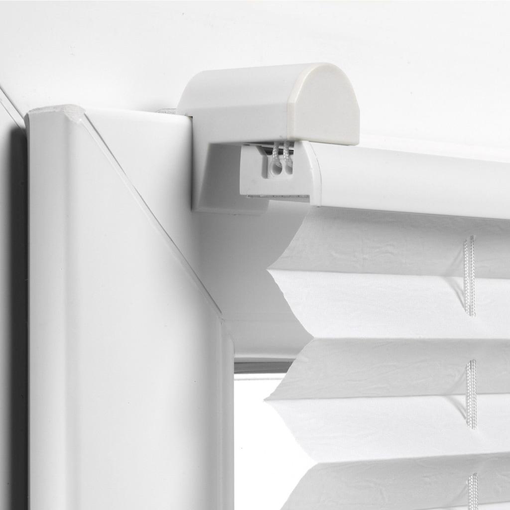 GARDINIA Plissee »Easyfix Thermo-Plissee mit 2 Bedienschienen Energiesparend«, verdunkelnd, energiesparend, ohne Bohren, verspannt