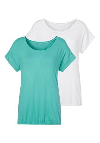 Vivance T-Shirt, mit elastischem Saumabschluss kaufen