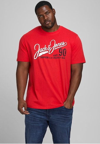 Jack & Jones T-Shirt »LOGO TEE«, bis Grösse 6XL kaufen