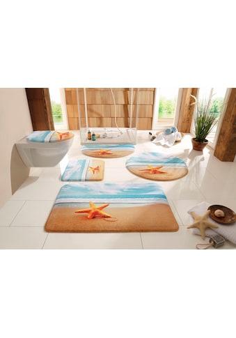 my home Badematte »Seestern«, Höhe 14 mm, rutschhemmend beschichtet, fussbodenheizungsgeeignet kaufen